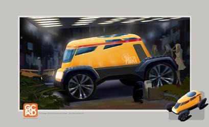 City Taxi Concept by GaryCampesi