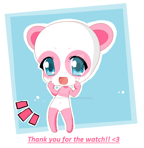 Thank you for the watch :D by thehobbypanda