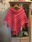 Crocheted poncho almost complete :D