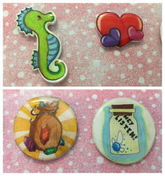 Resin project 4 (Pins)