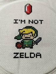 I'm not Zelda