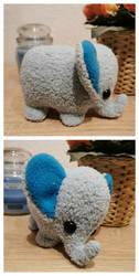 Cute elephant by thehobbypanda