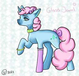 Glass Jewel Unicorn pony