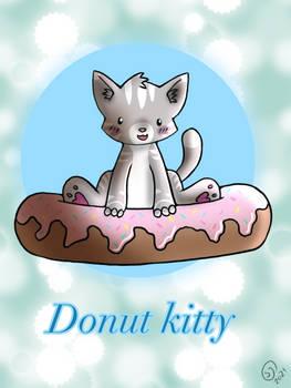 Donut kitty