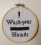 Wash your *BEEP* hands :D by thehobbypanda