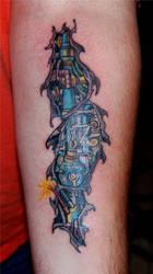 Robot arm by HotWheeler