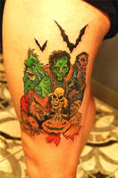 Bryan Baugh Monsters by HotWheeler