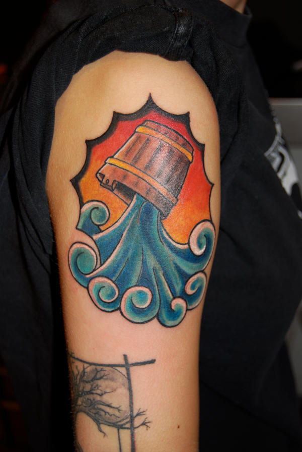 Aquarius Tattoo By HotWheeler On DeviantArt