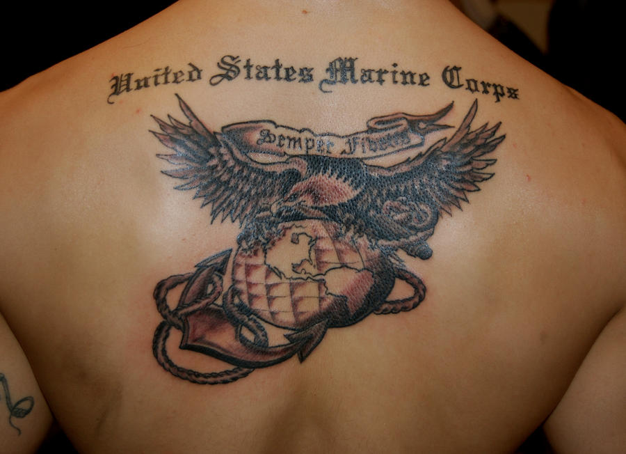USMC Eagle globe and Anchor by HotWheeler