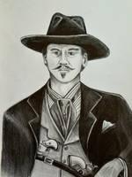 Val Kilmer as Doc Holliday by HotWheeler
