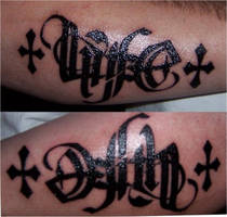 Life and Death ambigram by HotWheeler