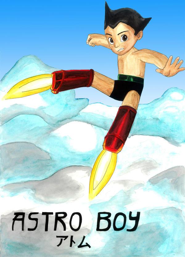 Astro Boy by whitestarflower