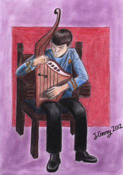 Spock Plays the Lyre