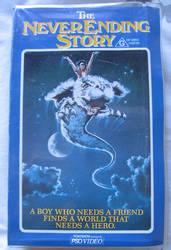 The NeverEnding Story VHS tape