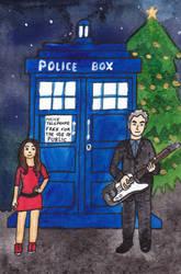 Doctor Who Christmas Card