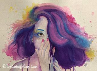 Vibrant by DrawingMom