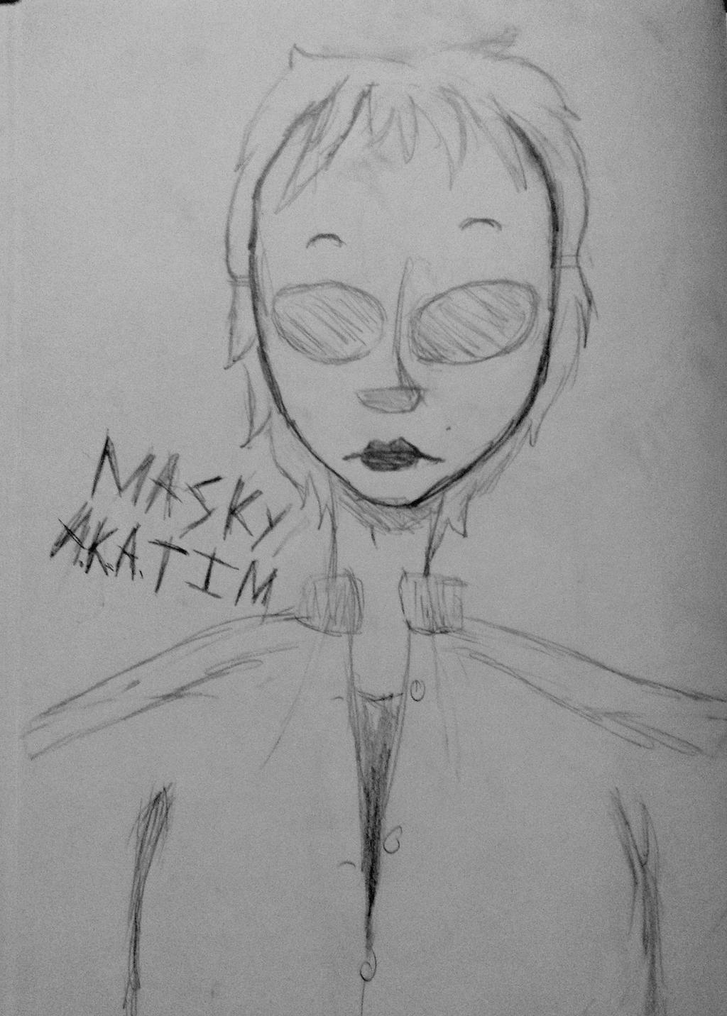 Masky by TheBaconMistress