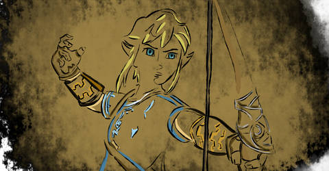 Breath of the Wild Colored OutlineLink