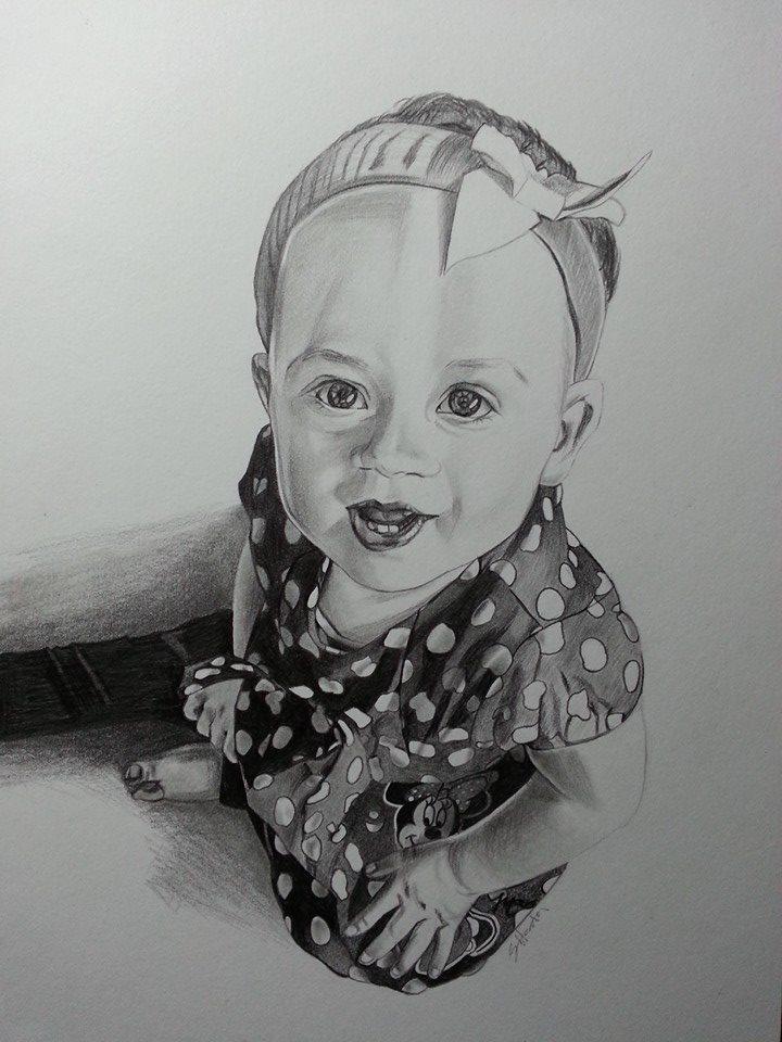 Portrait for a client by Sarah-Janee