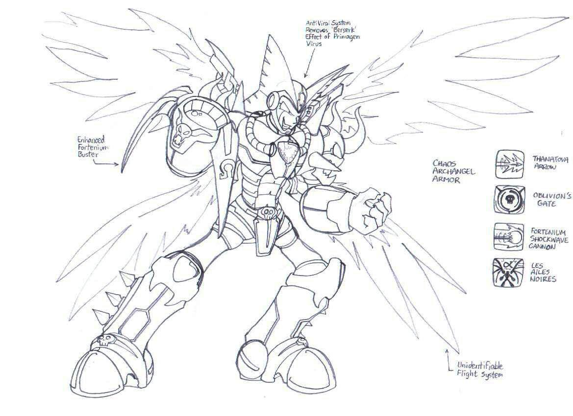 215x  chaos archangel armor by draguunthor on deviantart
