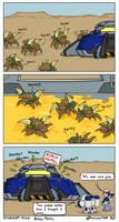 Starcraft 2 Minis: Roach Motel by Draguunthor
