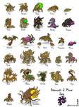 Starcraft II Minis: Zerg