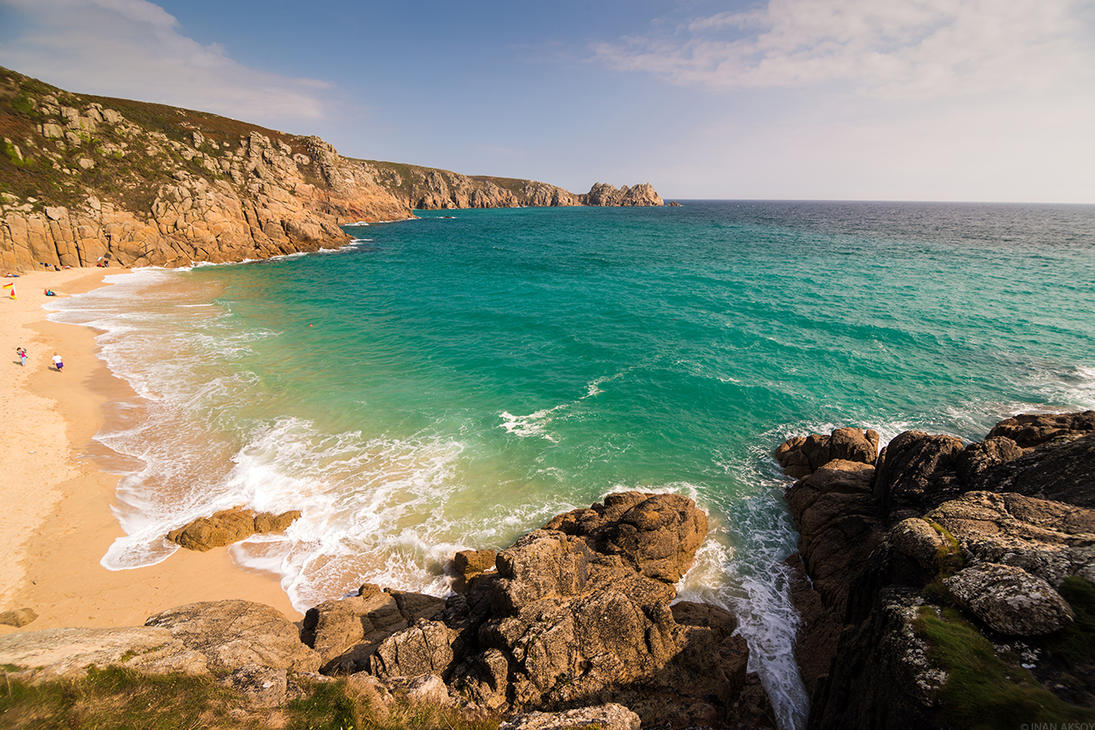 Porthcurno by dynamick