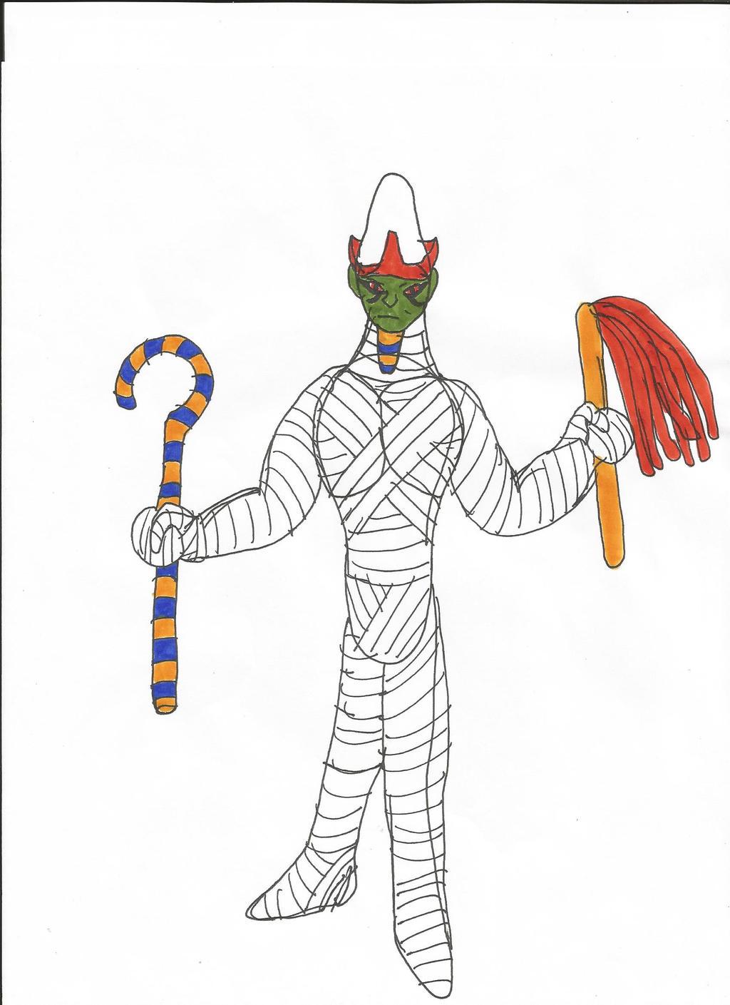 Mythology: Osiris by MalchiorOfNol on DeviantArt