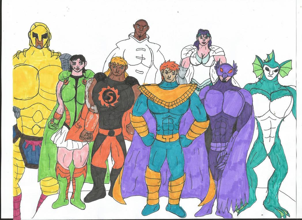 Multiverse: Defenders by MalchiorOfNol