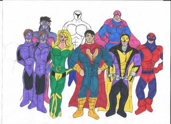Multiverse: Hero Alliance by MalchiorOfNol