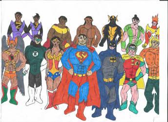 Multiverse: Superfriends by MalchiorOfNol