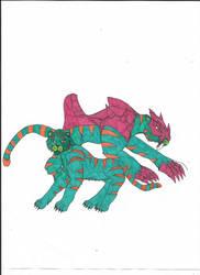 Cringer/Battlecat by MalchiorOfNol