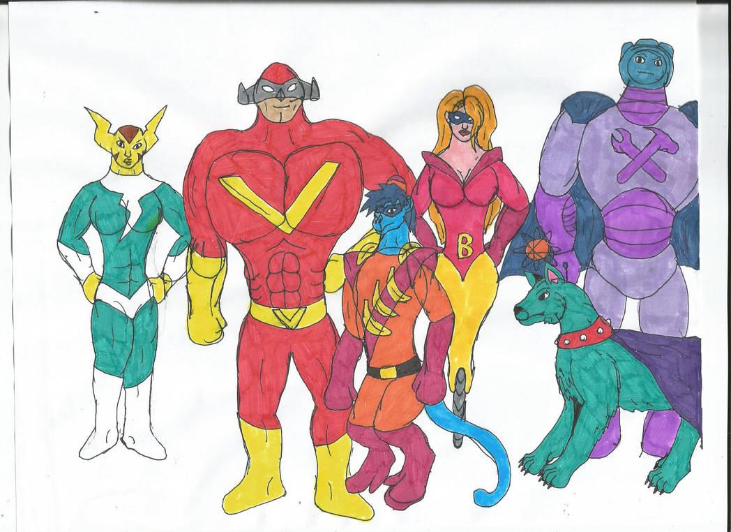 Multiverse: Defenders of Dynatron City by MalchiorOfNol