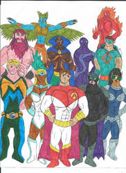 Multiverse: League of Righteousness by MalchiorOfNol