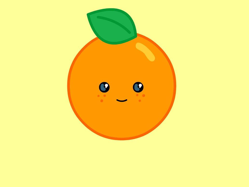 Cute Orange by islam764 on DeviantArt