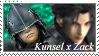 Kunsel x Zack stamp by VenturertheHybrid
