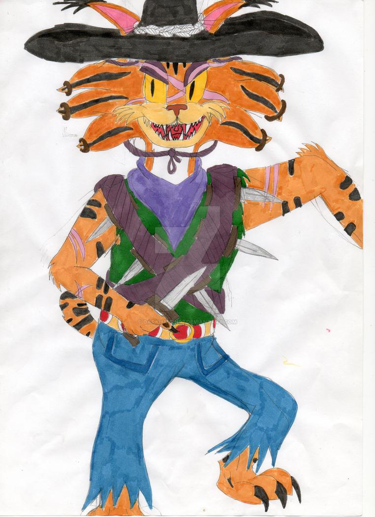 OC: Alfilado the bobcat by darkhaven97