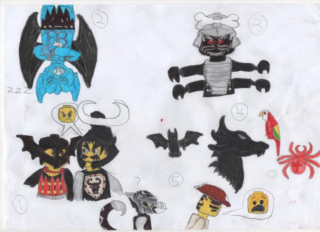 Random Lego stuff by darkhaven97