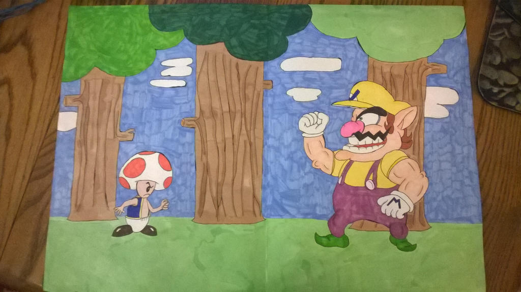 ''This is-a my woods a-now shroom!'' by darkhaven97