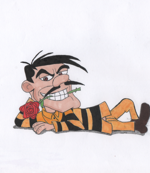 Joe and a rose by darkhaven97
