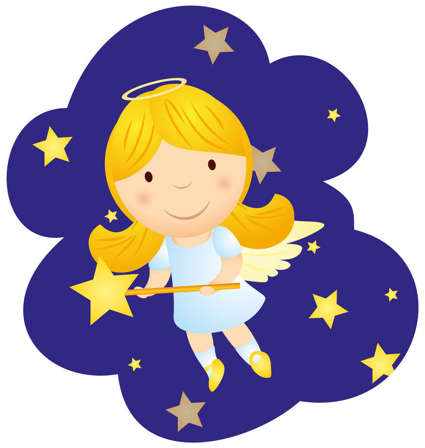 cartoon angel clipart - photo #26