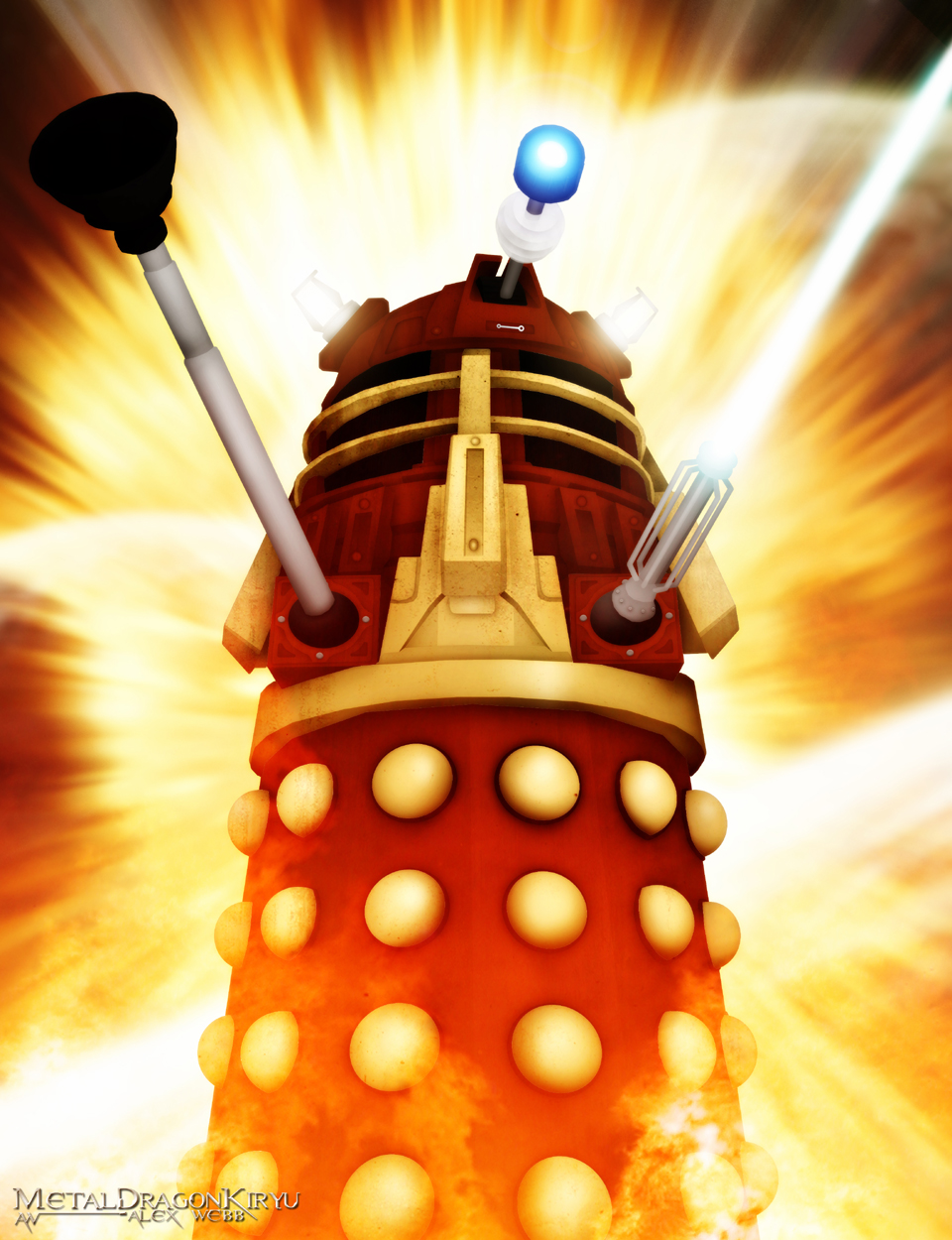 The Supreme Dalek by Metal-Potato-Alex
