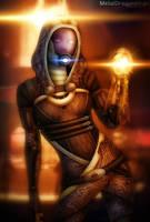 Mass Effect 2 - Tali by OrbitalWings