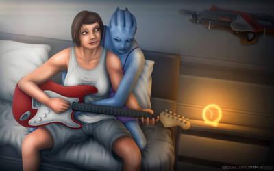 Mass Effect - 'Adagio' by OrbitalWings