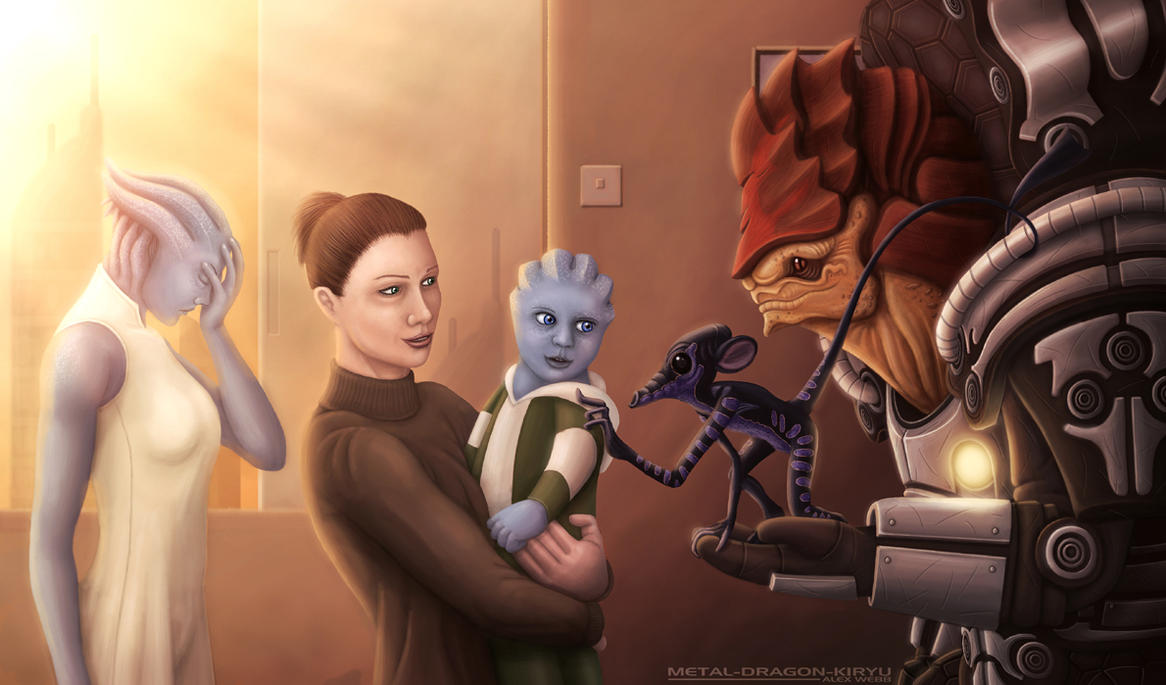 An Uncle's Gift by Mecha-Potato-Alex