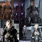 Freya Shepard - Custom Armor