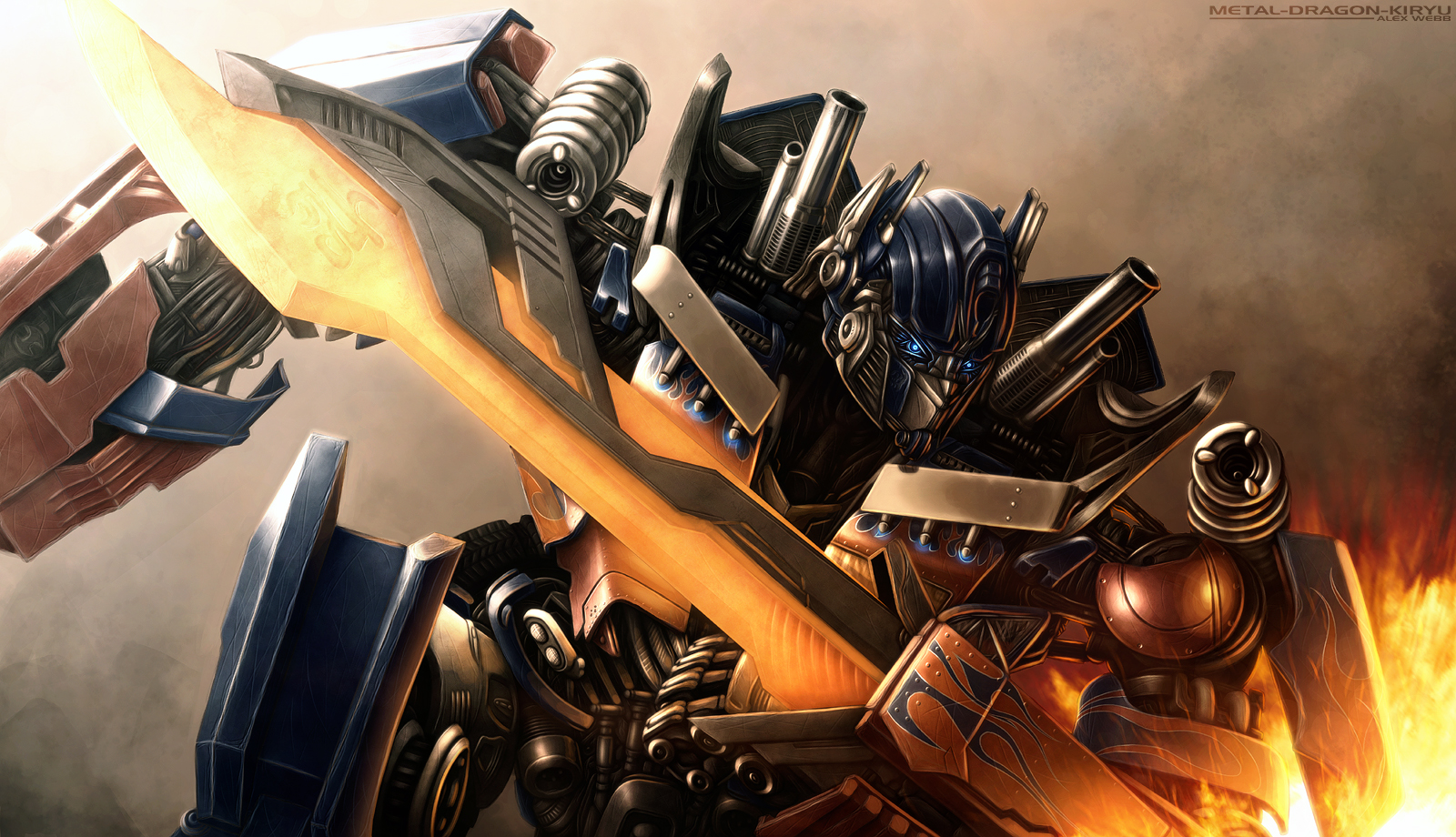 Transformers: 'It's Our Fight' by Mecha-Potato-Alex