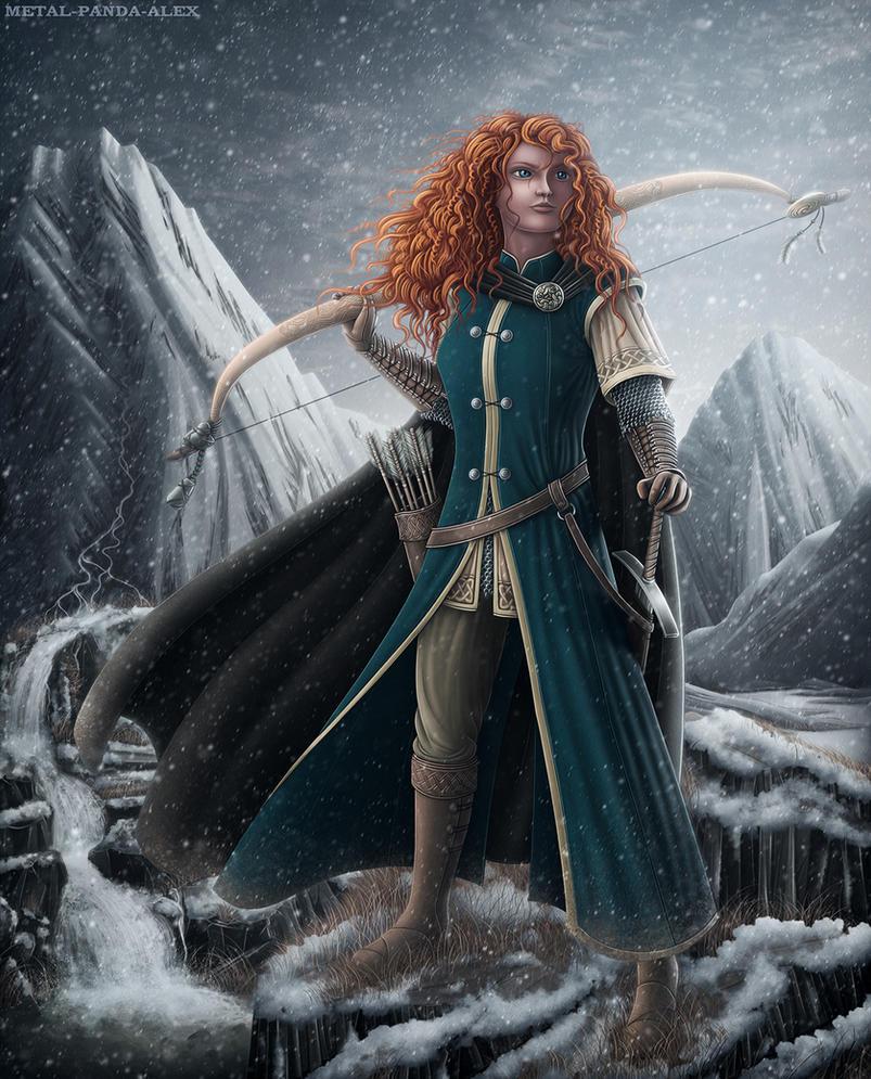 Brave - 'Winter's Chill' by Mecha-Potato-Alex