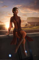 KOTOR - 'A Moment of Calm' by OrbitalWings