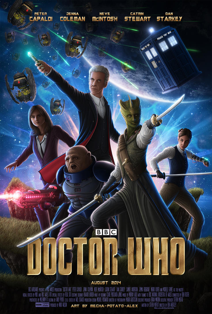 Doctor Who - 'Guardians of the Galaxy' by OrbitalWings
